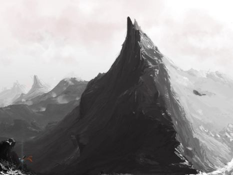 Some more Mountains, yeah (WIP) by JM-i2