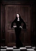 Morticia Addams by Lesta
