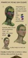 Tiny tips: Wild skin colours by Ranarh