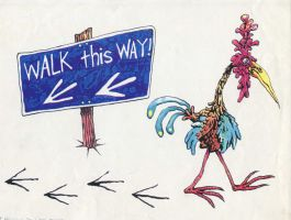 Walk This Way By Ronald by Keri-Is-So-Very