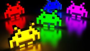 Colours invaders by earn31