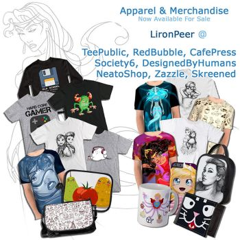 Get My Artwork on Apparel and Merchandise by LPDisney