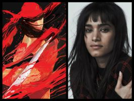 Marvel's Daredevil Season Two: Elektra by Myths-of-Genesis