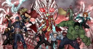 Avengers Age of Ultron by Patrick-Hennings