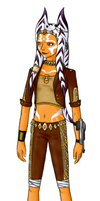 Star Wars OC - Sola Caho by ShadOBabe