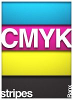 CMYK Stripes by Ranx-88