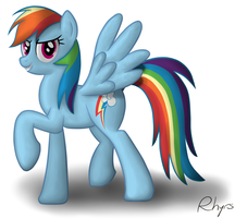 Rainbow Dash by Rhyrs