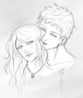 Point commission: Alex and Kate by cathrine6mirror