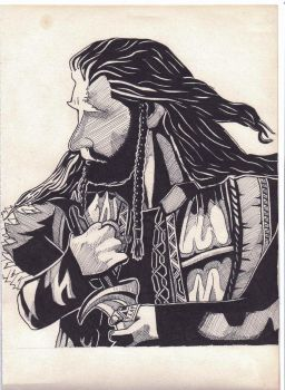 Thorin and Orcrist by Murtaghje