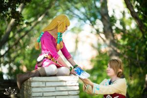 Hylian Touch by BlankoCosplay