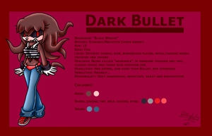 Dark Bullet -REF- by ChibySoly