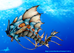 Mega-Gyarados by Red-Moon-Pictures