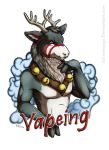 Vapeing [Badge] by Schneeauge