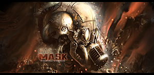 Gas-mask by cliffbuck
