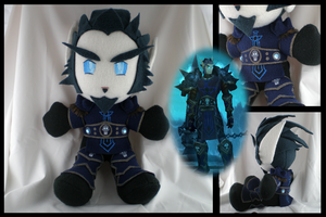 WoW Blood Elf Plushie by eitanya