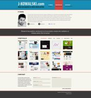 Personal website 3 by zagiPL