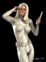 Silver Sable by Sharby