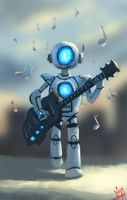 Yes i am Robot by donsaid