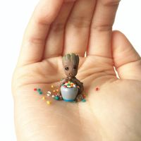 Sweet-toothed Baby Groot by lonelysouthpaw