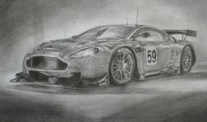Aston Martin DBR9 by GJAF