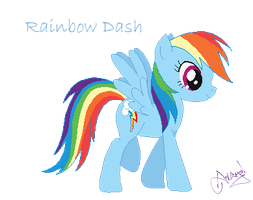 Rainbow Dash by Ameyal