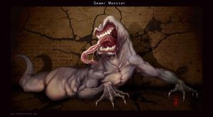 Sewerside Slug Monster by thedarkcloak