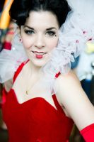 Queen of Hearts Closeup by msventress
