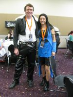 Anime Banzai Squall and Rinoa by mystangelwingsstock