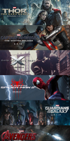 Which 1 of these Marvel films are you EXCITED for? by DiamondDesignHD