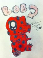 Bob the Polka Dot Dinosaur by PunkRockisNirvana