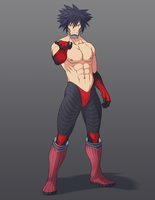 Commission: Buff Vanitas by R-Legend