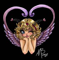 little cupid girl colored by Harpyqueen