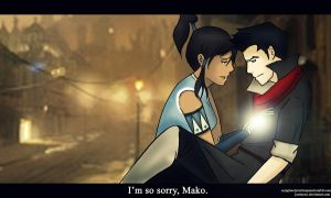 I'm So Sorry, Mako by justixoxo