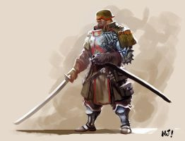 samurai-soldier by njay