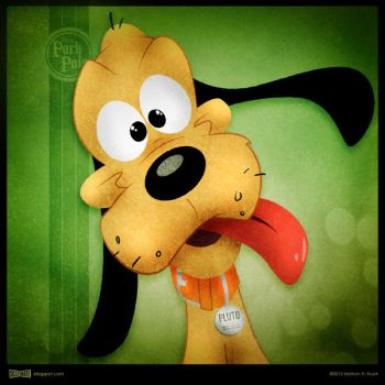Disney Park Pals - Pluto by SillyNate