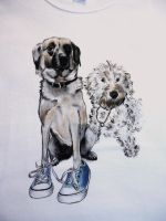 2 dogs by keopsa