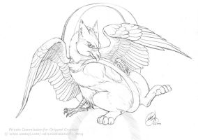 Sketch for Origami by GoldeenHerself