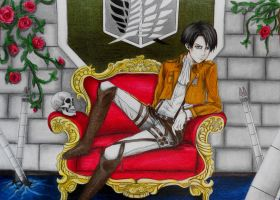 Rivaille by LiliyaZ