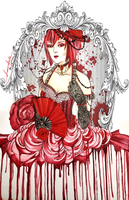 Madame Red - Black Butler by ravenlachrimae