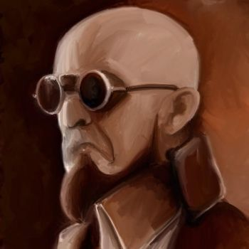 Dr  Steel Portrait by RadioactiveNemofish