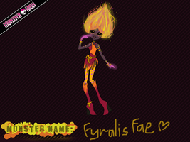 Monster High Contest - Fyralis Fae by Gooey-brains