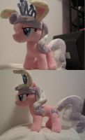 My little pony Diamond Tiara Plush (commission) by Little-Broy-Peep