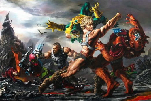 Masters of the Universe: Clash at Snake Mountain by SiMoSol