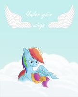 Under your wings -cover- by GabrieldlTC