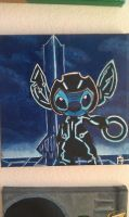 Tron Stitch by U-Nica