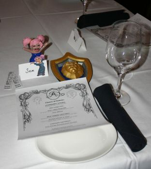 A Warcraft Wedding: Place settings by TallmanCreations