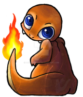 Charmander by Darkenmarr
