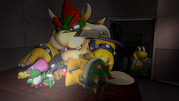 [SFM] Bowser's Secret Hobby by Hunselbahn