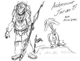 Astronaut Jarvan by aftertaster7