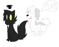 Play! Play! Play! Play! by PawsitivlyPastel